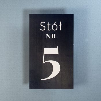 g-01 numery na stół 1