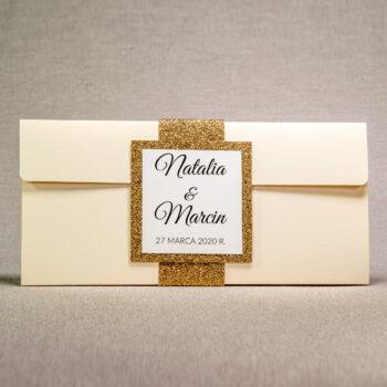 zaproszenie ślubne GL-02 1