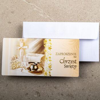 Zaproszenia na Chrzest ZCH-07 1